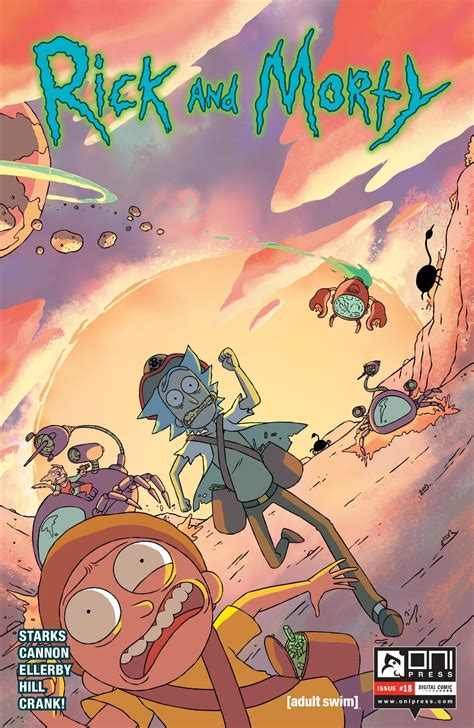 rick and morty volume 1 comics review rick and morty 18 bubbleblabber