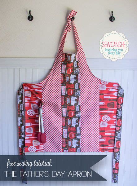 pattern for bbq apron free free tutorial father s day bbq apron dads patterns and