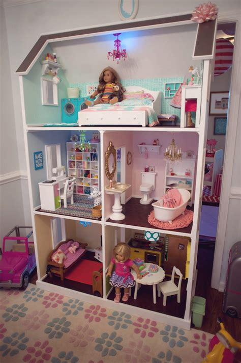 doll house themes kara s party ideas american girl doll themed birthday party kara s party ideas