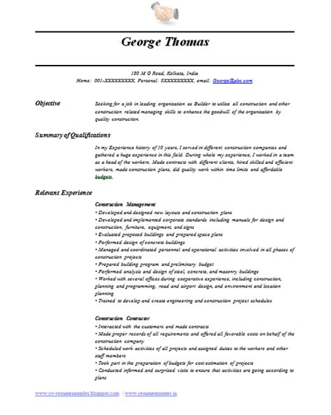 resume format for overseas international level resume sles for international dubai australia the uk