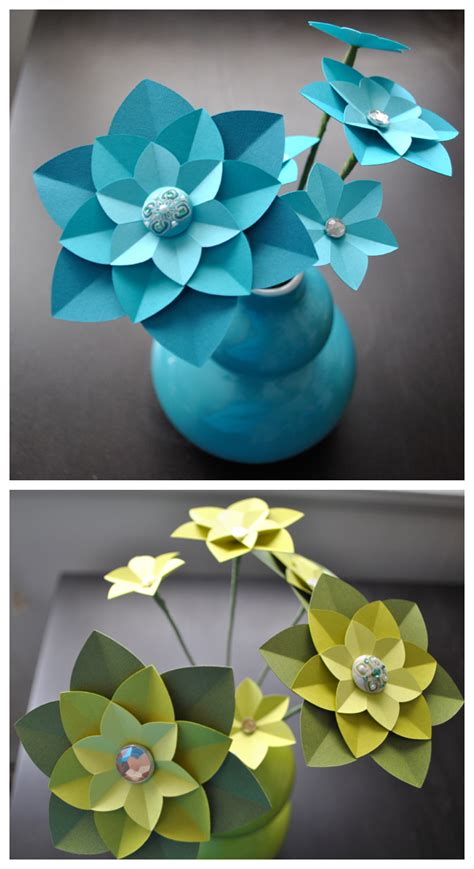 How To Make Paper Flower Decorations - the canopy artsy weddings weddings