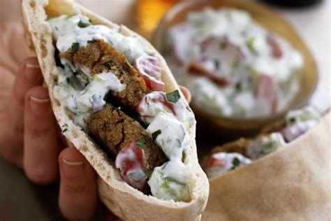 How To Do Spring Cleaning by Falafel Pita Sandwich Recipe With Vegetables And Tahini