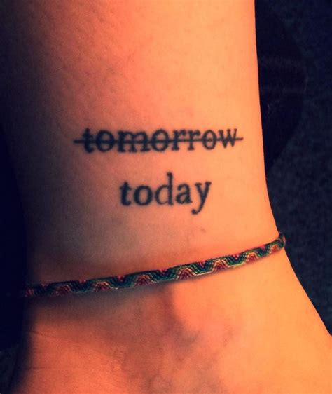 word tattoos cool ankle word creativefan