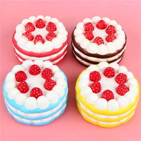 Squishy Jumbo Cupcake eric squishy cuteyard jumbo strawberry cake rising