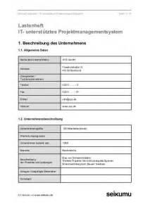 Word Vorlage Pflichtenheft 122 Pflichtenheft Projektauftrag Word Formular Ein Weiteres Programm Neben Anderen Wie Zb
