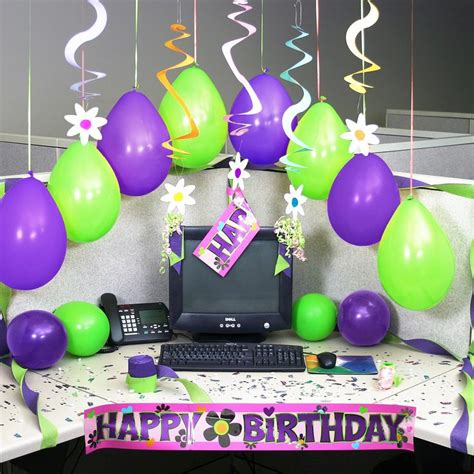 Office Desk Birthday Decoration Ideas 25 Best Ideas About Office Birthday Decorations On