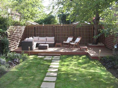 garden designs for small gardens home interior designs - Garden Design Long Narrow