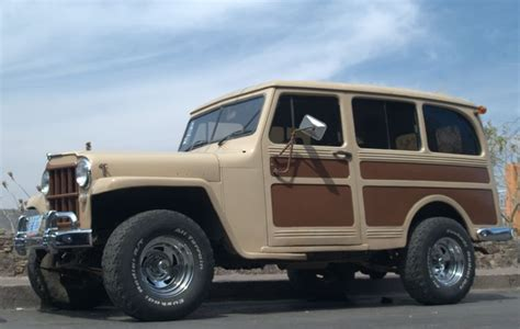 Jeep Woody Wagon For Sale Modified 1950 Willys Overland Station Wagon Willys