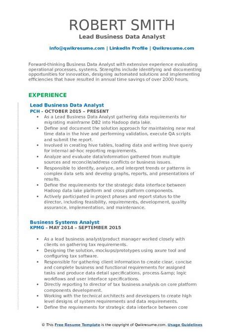 Sql Server Resume Sample by Business Data Analyst Resume Samples Qwikresume
