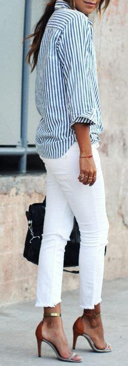 Blouse Denim 5488 561 best striped shirt images on striped