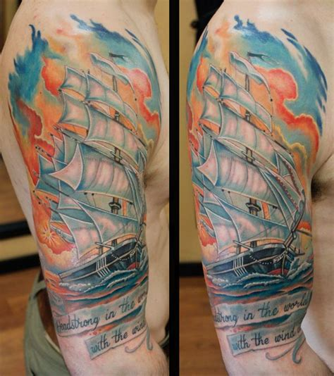 watercolor tattoo rotterdam 460 best images about pirate tattoos on