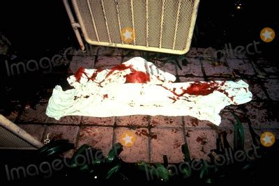 photos and pictures death scene of ronald goldman and