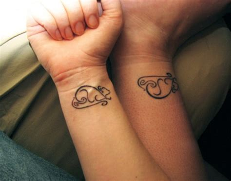 wrist tattoo for couples unique rat designs for your sheplanet