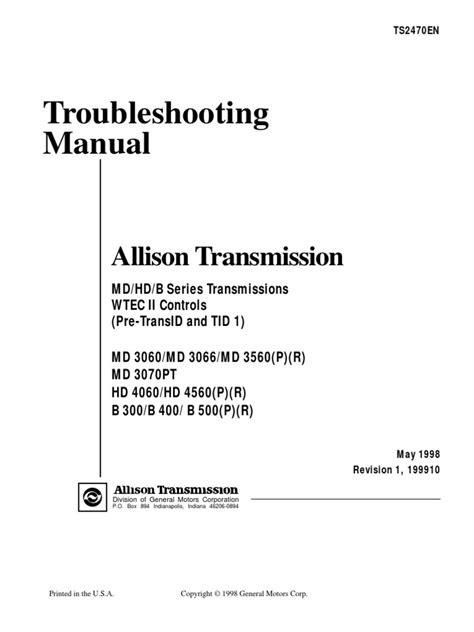allison transmission wtec iii wiring diagram 44 wiring
