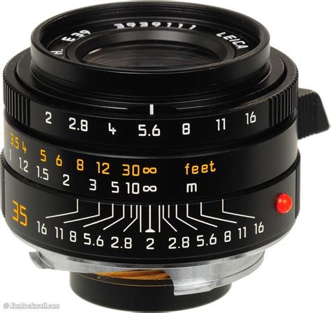 35mm leica leica 35mm f 2 summicron m asph