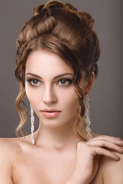 Hochsteckfrisuren Halboffen Mittellang by Hochsteckfrisuren F 252 R Mittellanges Haar