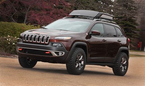 modified jeep cherokee 2014 jeep cherokee trail carver conceptcarz com