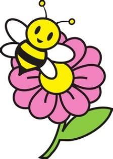 wallpaper bunga kartun image lebah kartun clipart best