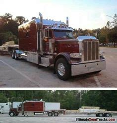 Peterbilt Studio Sleeper by Semi S On Peterbilt 379 Peterbilt And Motor Homes
