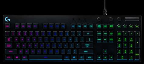 Keyboard Logitech G810 Spectrum logitech g810 spectrum rgb mechanical gaming keyboard 920 007757 centre best pc
