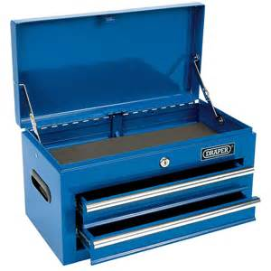 draper 03243 2 drawer tool chest tool box ebay