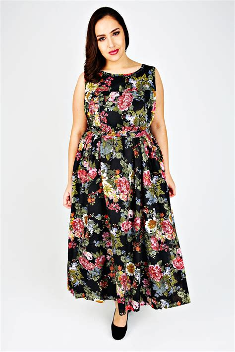 Dress Cotton Flower Size 3 6y floral print cotton maxi dress with bead embellishment