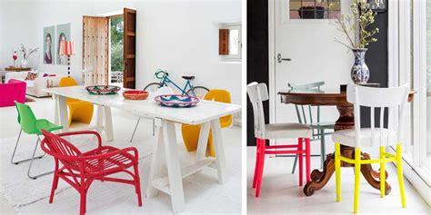 accento sedie sedie colorate ecco l accento di stile facile e efficace