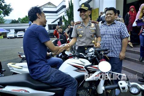 Lu Tembak Sepeda Motor indonews pencuri sepeda motor nekat tembak polisi