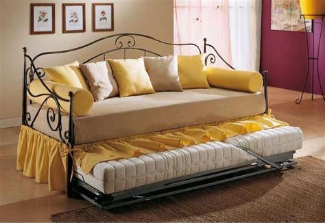 divano letto singolo in ferro battuto divano letto in ferro singolo cecilia particolare 1
