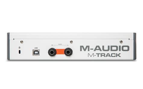 M Audio M Track Plus Mk2 m audio m track mk2 interface de 193 udio branca usb m track mkii m audio grava 231 227 o