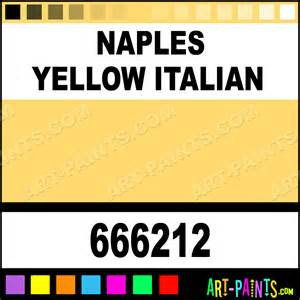 naples yellow italian extra fine oil paints 666212