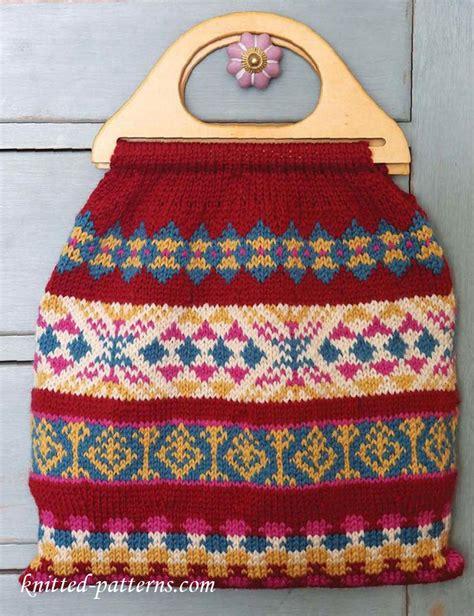 carpet bag knitting pattern