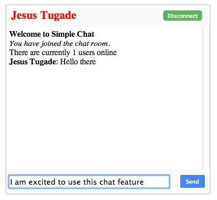 Simple Node Js Websocket   simple chat with html5 websockets and node js 171 jesus tugade