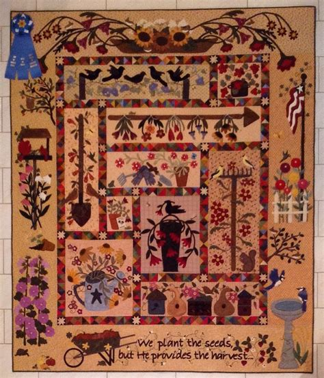 Greater Houston Quilt Guild by 17 Best Images About Primitive Garden Quilt On