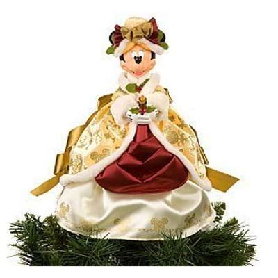 disney tree toppers for christmas trees disney tree topper minnie mouse