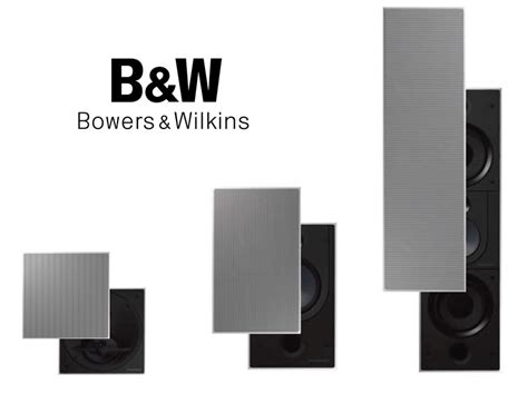Recommended Bookshelf Speakers B Amp W Flagship In Wall Ci800 Speakers Preview Audioholics