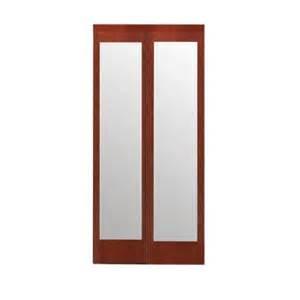 Mirror Closet Doors Home Depot Impact Plus 60 In X 80 In Mir Mel Mirror Solid Cherry Mdf Interior Closet Sliding Door