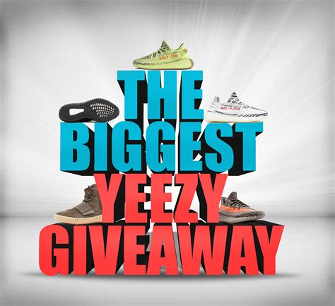 Free Jordans Giveaway 2017 - enter to win free yeezys in the most massive giveaway of 2017