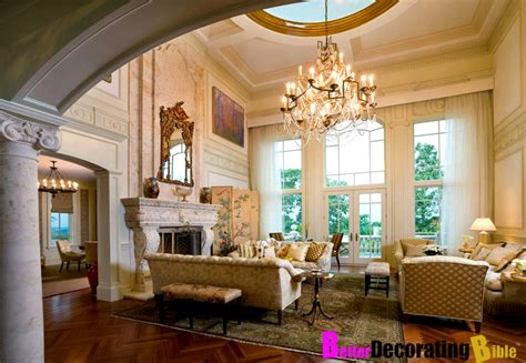 rich home interiors mansion brown residence new jersey interior better decorating bible design how to