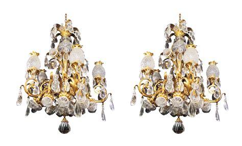 baccarat lustre lustre baccarat en bronze dor 233 et cristaux paul bert