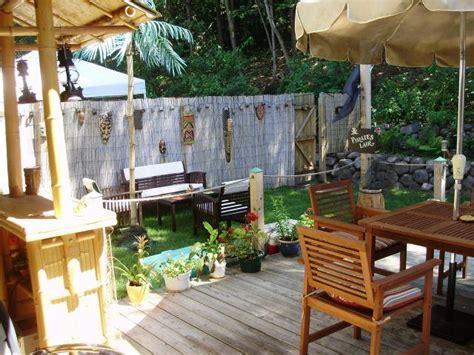 Themed Backyard by Adventureland Themed Backyard Tiki Central