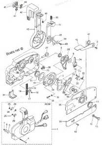 2011 md40b2 tohatsu outboard component parts of remote box diagram and parts