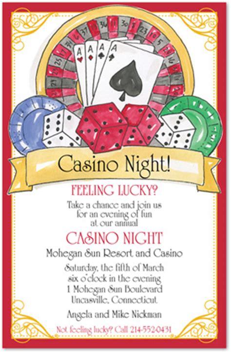 Lucky Casino Night Invitation Casino Invitations 28366 Casino Invitation Template Free
