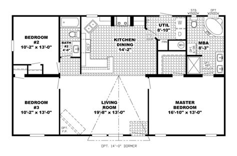 open floor plan house plans plan number 07330 1000 images