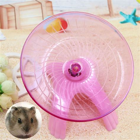 Flying Saucer Hamster flying saucer exercise wheel hamster mouse cage 5
