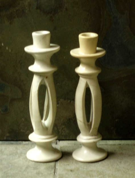Soapstone Candle Holders split candle holders