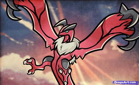how to draw yveltal pokemon x and y step by step how to draw yveltal pokemon x and y step by step