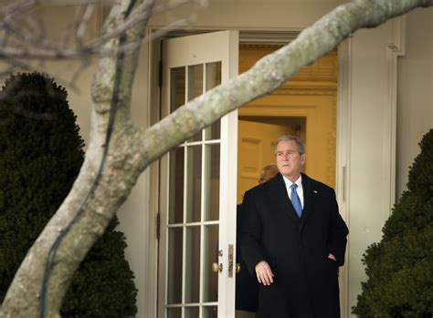 White House Marines by George W Bush In President Bush Departs White House On