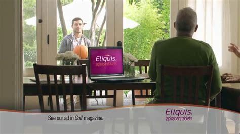 eliquis tv commercial eliquis tv commercial reasons ispottv eliquis tv