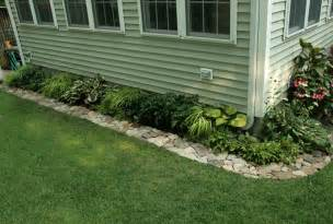 Landscape Edging With Rocks Best 25 Rock Garden Borders Ideas On Rock